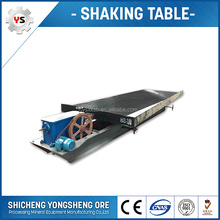glass fiber mining gold refining shaking table