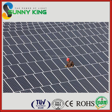New Photovoltaic Technology 60 cells black poly 260W Solar Module for solar electric power | Solar panel