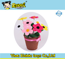 DIY EVA flower pot children handmade children toys