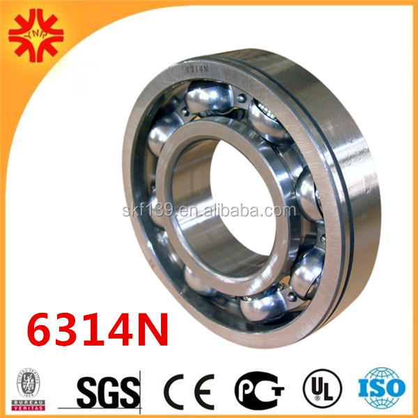 70*150*35 mm 6314 N Deep Groove Ball Bearing 6314N