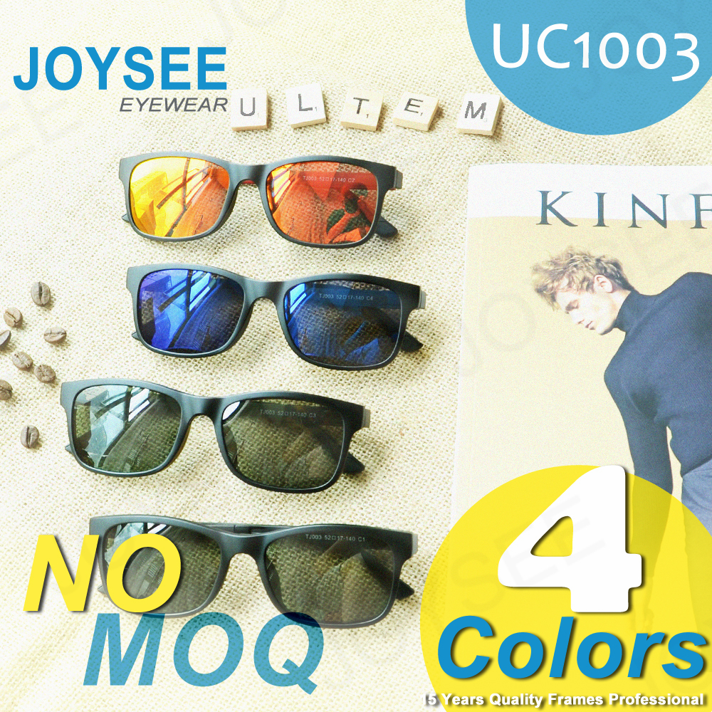 ULTEM FRAME! Joysee 2016 New Year Mono Design Special Clip On In Style Sunglasses Fast Shipping China