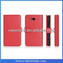 For Nokia Lumia 925 Case Leather Lumia 925 Luxury Case Cover For Nokia Lumia 925 Flip Case with Stand Function