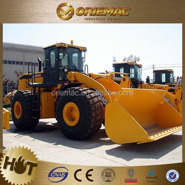 chinese wheel loader XCMG LW800K 8 ton front loader