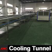 Touch Screen State-of-the-art Design ice bucket Cooling Tunnel Machine
