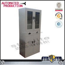 Best selling products visible office glass key cabinet iron cupboard office filing cabinet