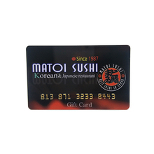CR80 Full Color Printing Plastic PVC RFID Gift Card