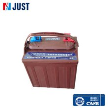 China manufacturer 6 volt 210ah gel car battery golf cart battery