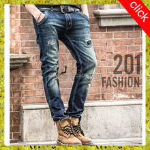 Now arrival blue brand wholesale rock revival jeans for men