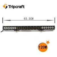 New Product Top Quality 4x4 Car Accessories Tuning Light 21.5 inch 120W Tractor Led Light Bar With Adjustable Bracket