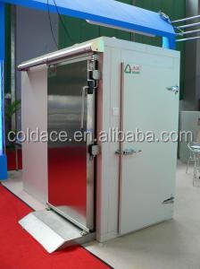 modular walk in cooler or cold room with solar power