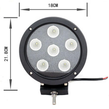 Car Accessories 60W Off Road Led Light for Truck Jeep 4WD SUV ATV UTV Led Work Light