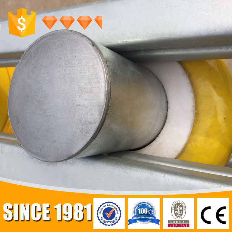 Immediate ship metal beam safety roller barrier highway security guardrail plate