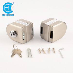 Wholesale commercial tempered double glass door locks