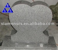 G603 China cheap grey granite monument and tombstone