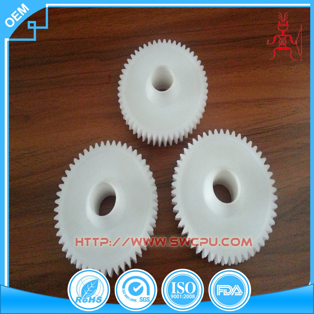 Injection plastic spur gears replacement parts palstic gears