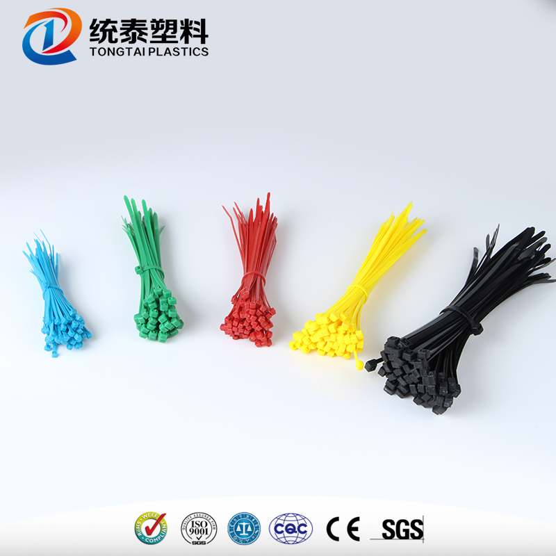 Low Price self-locking plastic cable tie strap manufactured in China