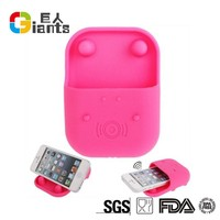portable Cellphone Accessories silicone music speaker for cell phone