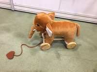 2016 New Design Small Plush Elephant Toy with Music for Babies