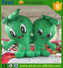 inflatable Fruit and vegetables cartoon character for commercial advertising
