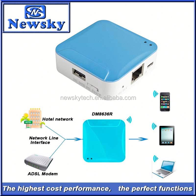 150Mbps wifi hotspot m1 mini 3g wifi router with rj45 support usb charge