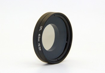 Gopros Integral CPL Filter with Lens Cover Set for GoPros 4/3+/3 ,40.5MM diameter