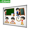 Latest 4 touch Anti-glare Educational digital Interactive White Board for school