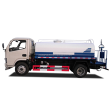 DongFeng High Quality 4000 liter 4X2 Mini Water Truck for Sale 4M3 Water Tank Truck with Cannon Sprinkler