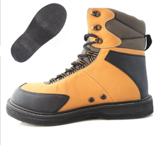 Rubber Sole And Spike Fishing Anti-slip Wading Shoes