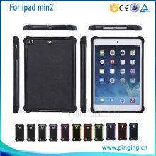 new product PC+TPU Football Pattern Hybrid Protective Case for ipad mini 2 , Back Cover Case for ipad mini 2