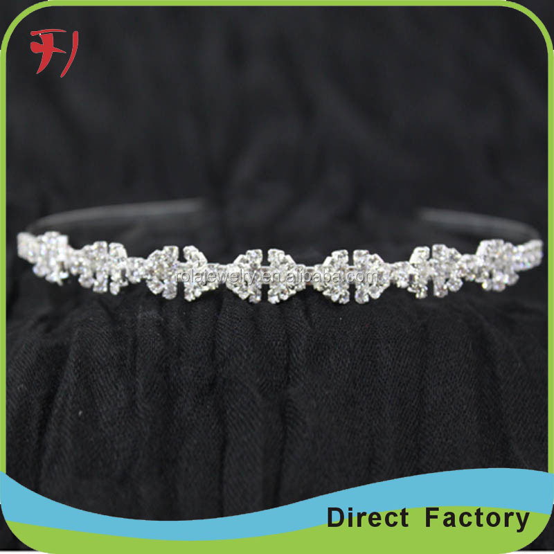 Wholesale luxury large crystal pageant crowns for sale