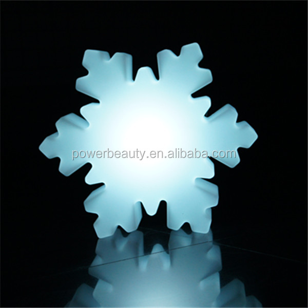 snowflake shaped deocrative lamp for outdoor