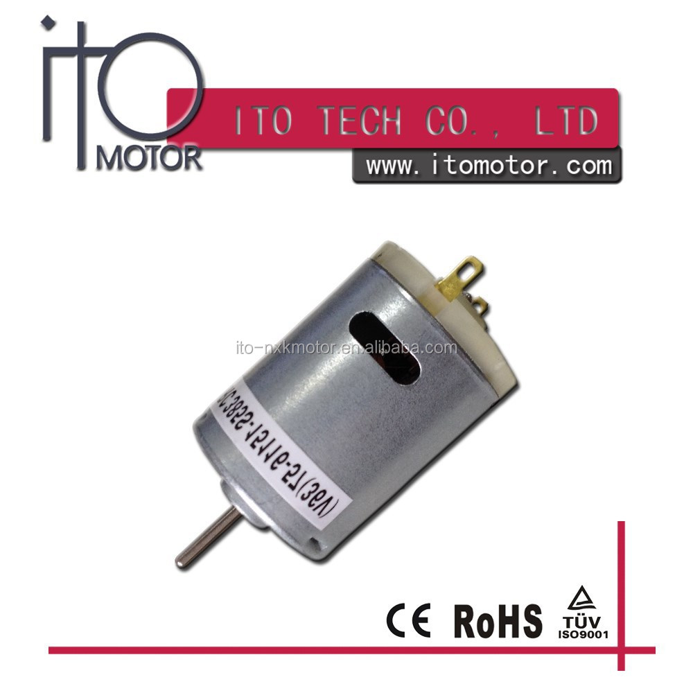 28mm Micro DC Motor 6000rpm, Small DC motor with 3v 6v 9v 12v 24v ,Carbon Brush Dc Motor with Vibration