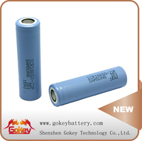 Cylindrical Battery Blue Color Samsung 22P 10A Discharge Current 18650 Battery 2200mAh 3.7V