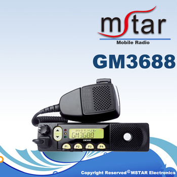 Factory Cost Mobile Transceiver GM3688 Walkie Talkie Car Base