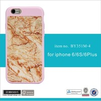 Real Marble Hard PC Slim Fit Protective Cover Case for Iphone 6S 7