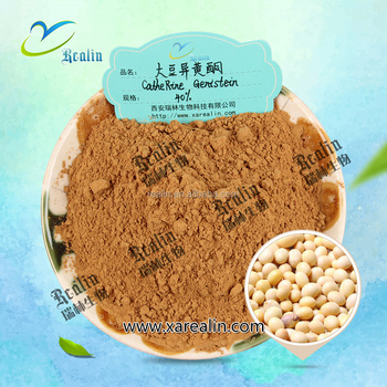 Pure & High Quality Soybean Extract Soybean Isoflavone 40% with factory price