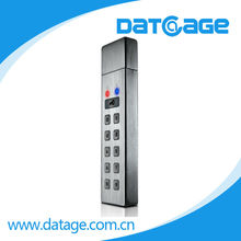 Datage AES-256bit Numeric Keypad Encryption/Decryption USB Flash Memory Stick