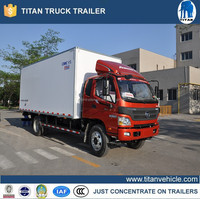 Refrigerated truck, refrigerator box truck, truck freezer units