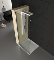 Modern Style Fixed Shower Screen WD4019