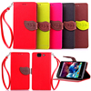 Leather Flip Leaf Wallet Case Card slot Cover for wiko HIGHWAY