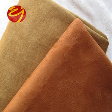 100% cotton micro embossed suede fabric