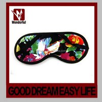 Cheap hot-sale top class 3d eye mask with logo printing
