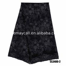 Factory Supplier garment mesh shoes lace fabric for wedding dress