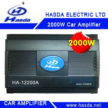 2000W Car Amplifier, 4ch high digital powerful sound