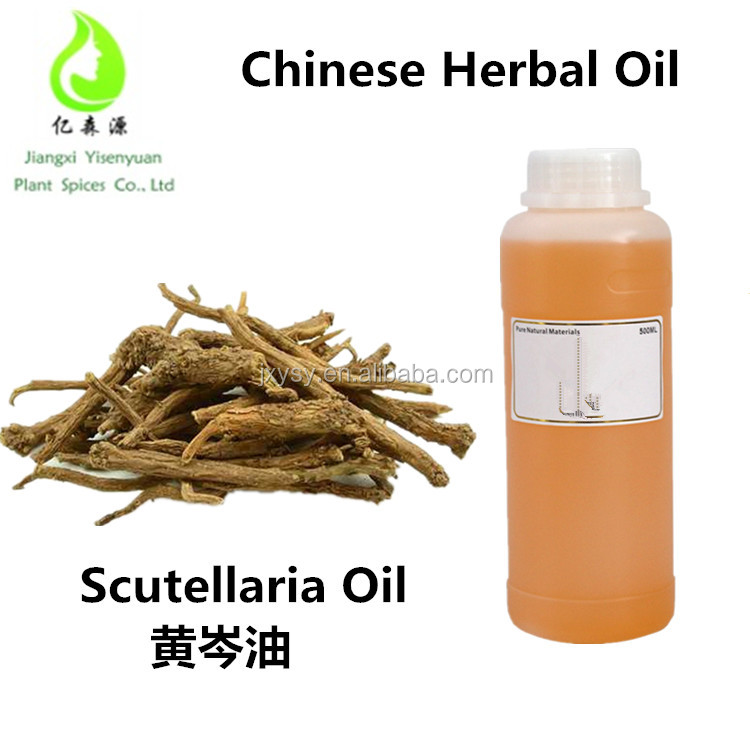 Chinese Herbal Plant Extract Massage Essential Oils /Pure Natural Scutellaria Root Oil/Health Medical