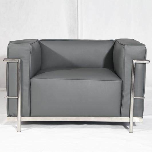 Le Corbusier Sessel Grau | williamflooring