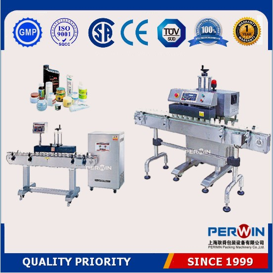 PW-2000B portable type round automatic plastic bottle cap induction sealing machine