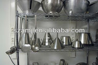 kitchen stainless steel wire shelves
