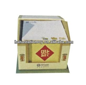 House shaped memo pad with box /sticky notes /fancy notepad