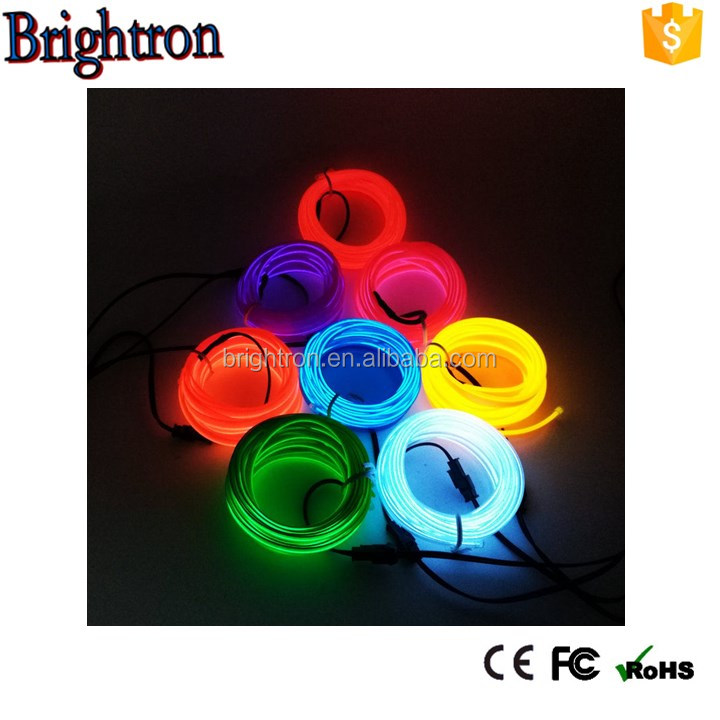 Festival high voltage High Quality 360 Degree Rope Light Flex Tube Sign Holiday Lighting decor